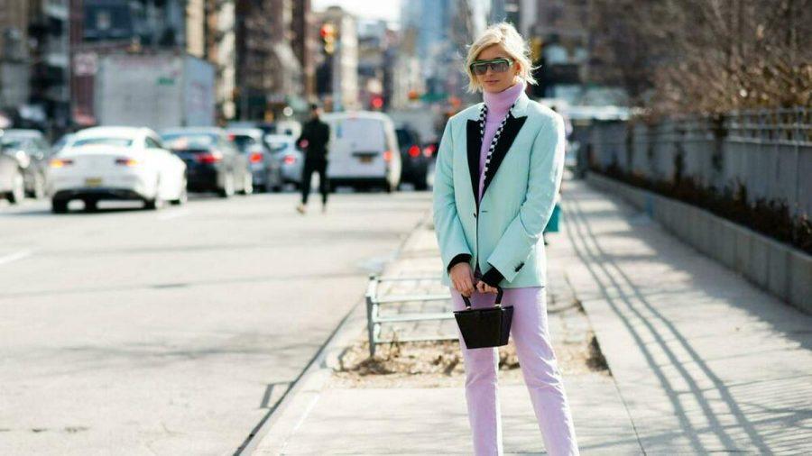 Pastellfarben richtig kombinieren - Modebloggerin Xenia Adonts macht es vor. (ncz/spot)