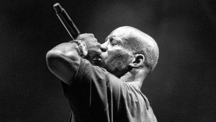 Rapper DMX während eines Auftritts (wue/spot)