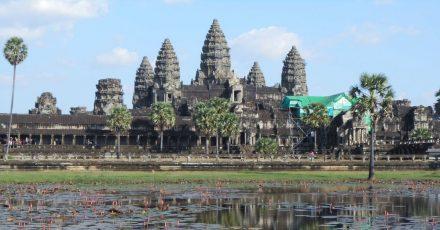 Die Tempelanlage Angkor Wat bei Siem Reap hatte zum Höhepunkt des Khmer-Reiches 900.000 Einwohner.