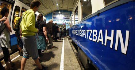 Schon bald soll die Bayerische Zugspitzbahn wieder den Betrieb aufnehmen.