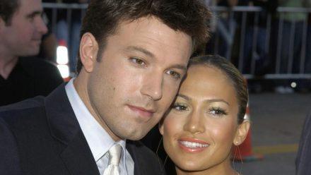 """Ben Affleck und Jennifer Lopez 2003 bei der Premiere seines Films """"Daredevil"""" (rto/spot)"""