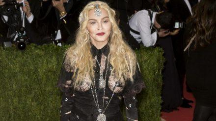 Madonna bei der Met-Gala in New York, 2016. (aha/spot)