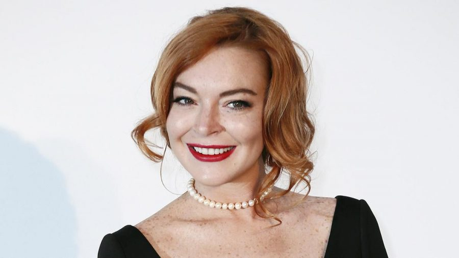 Lindsay Lohan bei der amfAR Gala in Cannes, 2017. (aha/spot)
