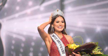 Andrea Meza nach ihrer Krönung zur «Miss Universe 2021» in Florida.
