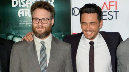 Seth Rogen (l.) und James Franco im Jahr 2017. (wue/spot)