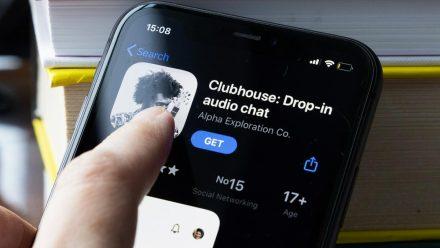 """Bald sollen auch deutsche Android-User Zugriff auf die """"Clubhouse""""-App erhalten. (wue/spot)"""
