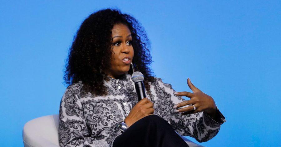 Michelle Obama 2019 in Kuala Lumpur bei einer Veranstaltung der Obama-Foundation.