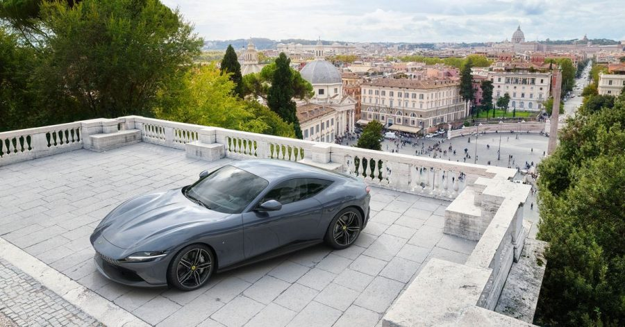 Typisch italienisch: Der Ferrari Roma soll technischen Fortschritt und den Sinn fürs Schöne vereinen.