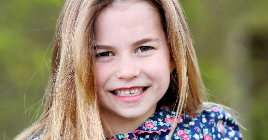 Prinzessin Charlotte, aufgenommen von Kate, Herzogin von Cambridge, am Wochenende in Norfolk, vor ihrem sechsten Geburtstag.