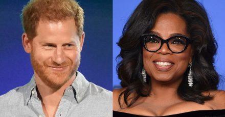 Prinz Harry und Oprah Winfrey haben gemeinsam eine Doku-Serie entwickelt.