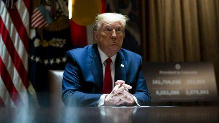 """Donald Trump hat nun ein """"Twitter"""" ganz für sich allein. (stk/spot)"""