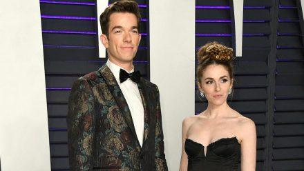 "John Mulaney und Annamarie Tendler bei der ""Vanity Fair""-Oscar-Party 2019. (jom/spot)"
