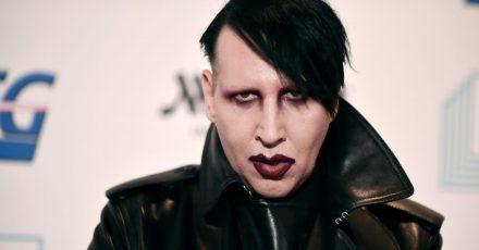 Marilyn Manson ist bekannt für seine provokanten Auftritte.