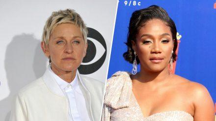 Wird Tiffany Haddish (r.) nach Ellen DeGeneres die neue Queen der US-Talkshow-Moderatoren? (wag/spot)