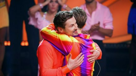 """""""Let's Dance"""": Nicolas Puschmann (li.) und Vadim Garbuzov müssen gehen. (eee/spot)"""
