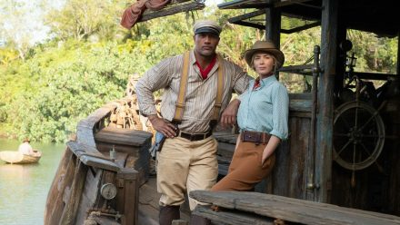 "Dwayne ""The Rock"" Johnson und Emily Blunt spielen die Hauptrollen in Disneys ""Jungle Cruise"". (tae/spot)"