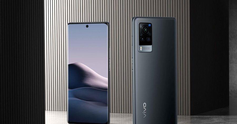 Das Vivo X60 Pro 5G (800 Euro) besitzt einen 6,56 Zoll großen, quasi randlosen AMOLED-Bildschirm (2376 mal 1080 Pixel) mit HDR10+ und 120-Hertz-Bildwiederholrate.
