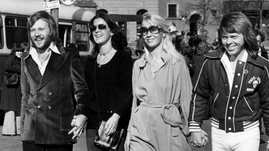 ABBA im Jahr 1977 während der Zeit ihres größten Erfolgs (dr/spot)