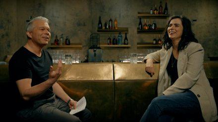 """Schauspielerin Nora Tschirner im """"Bar-Talk"""" mit Markus Kavka. (ili/spot)"""