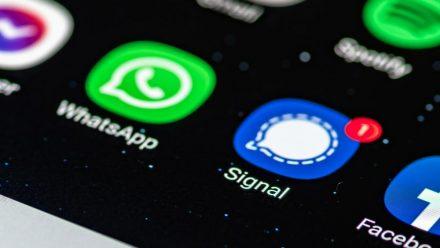 Immer mehr Nutzer wandern zum Messenger Signal ab. (rto/spot)