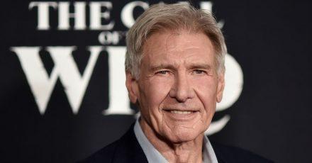 Schauspieler Harrison Ford, hier bei einer Filmpremiere 2020, steht in diesem Sommer für  die «Indiana Jones»-Fortsetzung vor der Kamera.