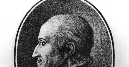 Adolf Freiherr Knigge (1752-1796).,  Verfasser des Standardwerkes über gutes Benehmen mit dem Titel «Über den Umgang mit Menschen».