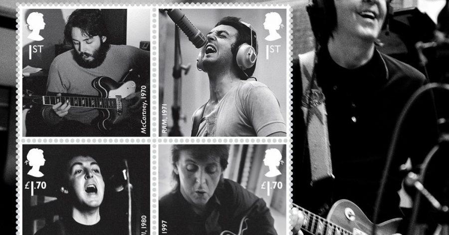 Die Royal Mail bringt zu Ehren von Ex-Beatle Paul McCartney Sonderbriefmarken heraus.
