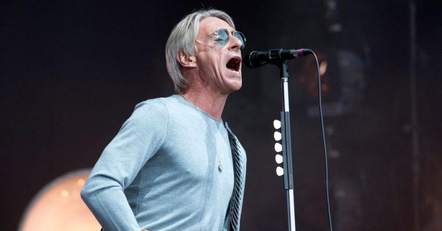 Paul Weller beim Glastonbury Festival 2015.