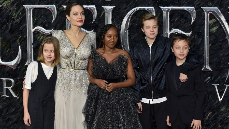 Angelina Jolie über ihre Dating-Liste und ihre äußerst fähigen Kinder