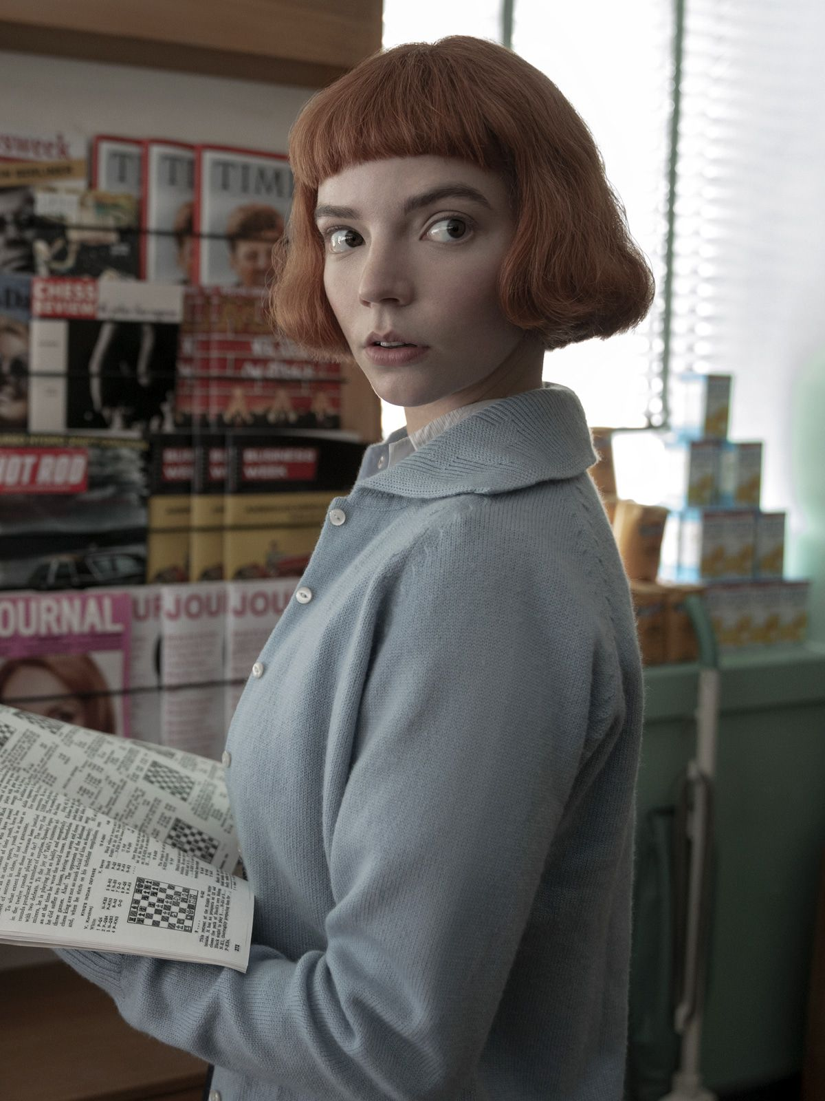 "Anya Taylor-Joy: Die Hauptrolle in ""Damengambit"" machte ihr Angst"