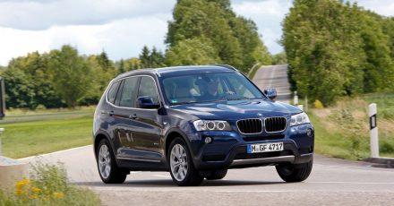 Kriegt die Kurve: Laut Tüv-Experten zählt der BMW X3 zu den «empfehlenswerten» Kompakt-SUVs. Doch auch sie notieren ein paar Kritikpunkte.