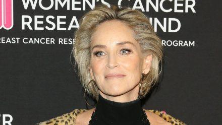 Sharon Stone bei einem Auftritt in Beverly Hills. (hub/spot)