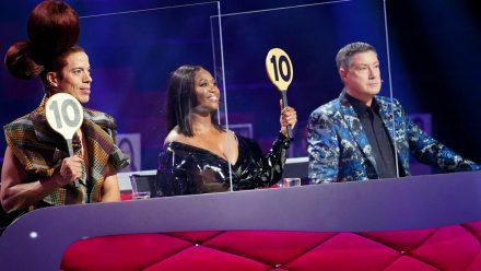 """Die """"Let's Dance""""-Jury vergibt bei den besten Performances die """"10"""". (jom/spot)"""