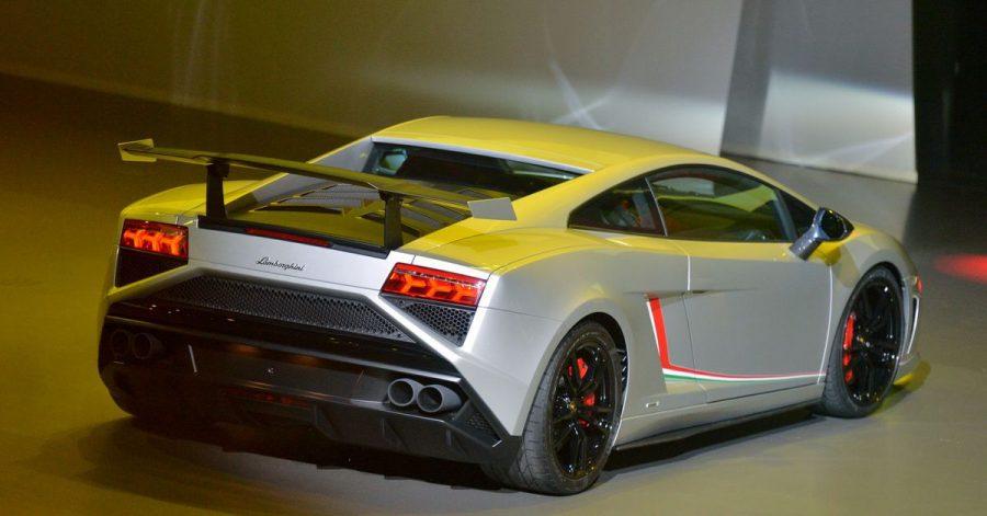 Man gönnt sich ja sonst nichts:ein Lamborghini Gallardo LP 570-4 Squadra Corse.