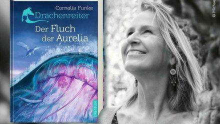 """""""Drachenreiter. Der Fluch der Aurelia"""" von Cornelia Funke wird am 8. Oktober 2021 erscheinen. (aha/spot)"""