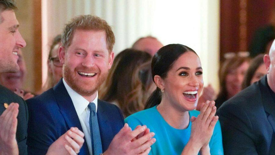 Prinz Harry und Herzogin Meghan bei einem Event im März 2020. (ncz/spot)