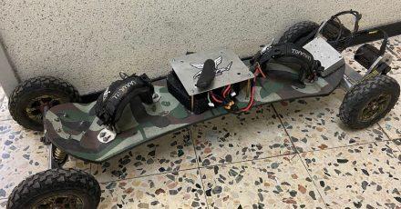 Das Skateboard gilt laut Polizei rechtlich als Kraftfahrzeug.