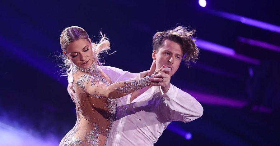 Schauspielerin Valentina Pahde und der Profitänzer Valentin Lusin bei «Let's Dance».