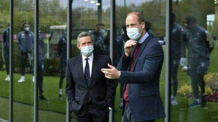 Prinz William besucht ein neues Trainingszentrum von Aston Villa (mia/spot)
