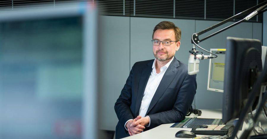 Martin Grasmück ist seit dem 1. Mai neuer Intendant des Saarländischen Rundfunks (SR).