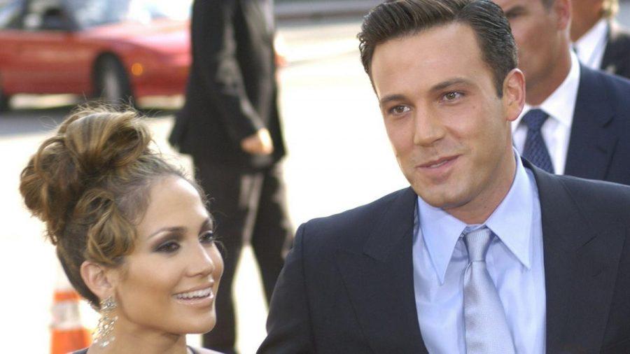 """Ben Affleck und Jennifer Lopez 2003 bei der Premiere ihres Films """"Liebe mit Risiko - Gigli"""". (ncz/spot)"""