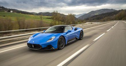 Supersportler mit 630 PS: Dank seines aufgeladenen V6 kann der Maserati MC20 bis etwa 330 km/h schnell werden.