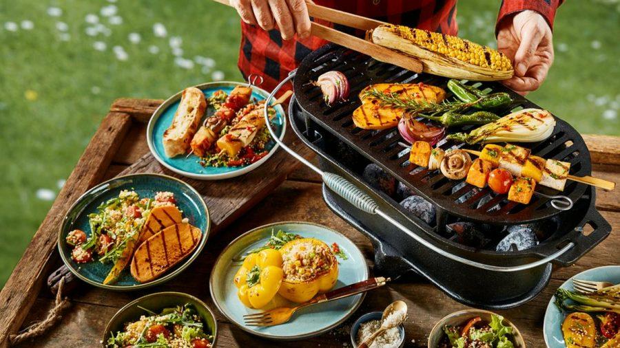 Vegetarier müssen beim Grillen nicht zwingend zu kurz kommen. (eee/spot)