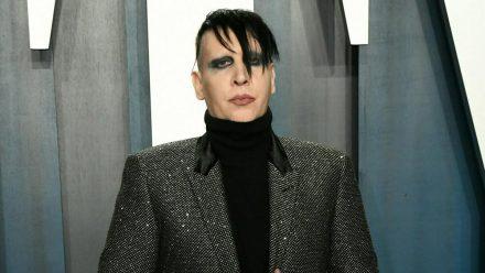 Marilyn Manson bei einer Veranstaltung im vergangenen Jahr (stk/spot)