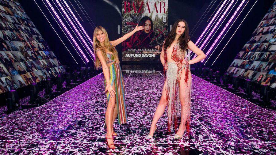 Heidi Klum (li.) hat mit Alex ihr neues Topmodel gekürt. (jom/spot)
