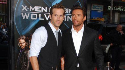 Polizei-Beamter spricht Hugh Jackman auf Ryan Reynolds an