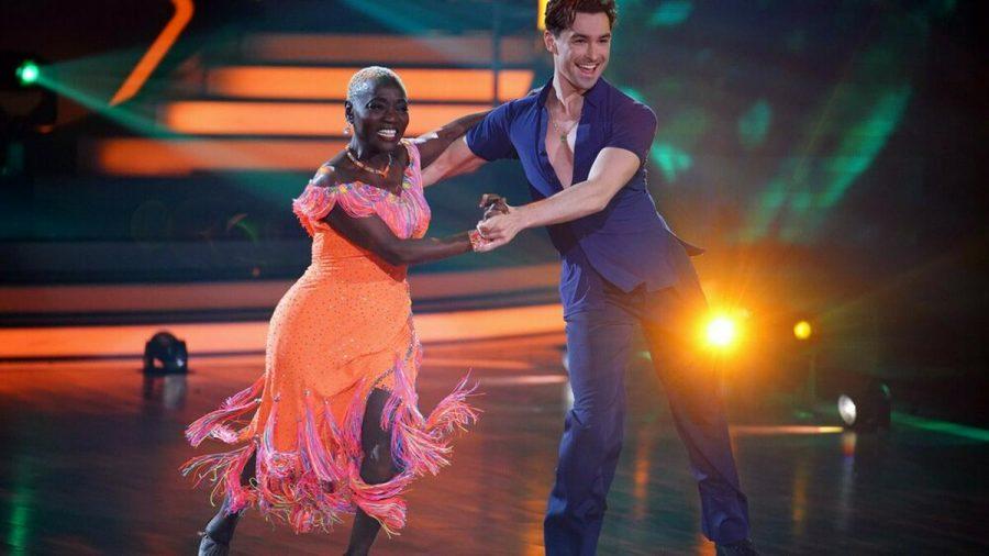 "Barack Obamas Halbschwester Auma schaffte es nicht ins ""Let's Dance""-Halbfinale. (elm/spot)"