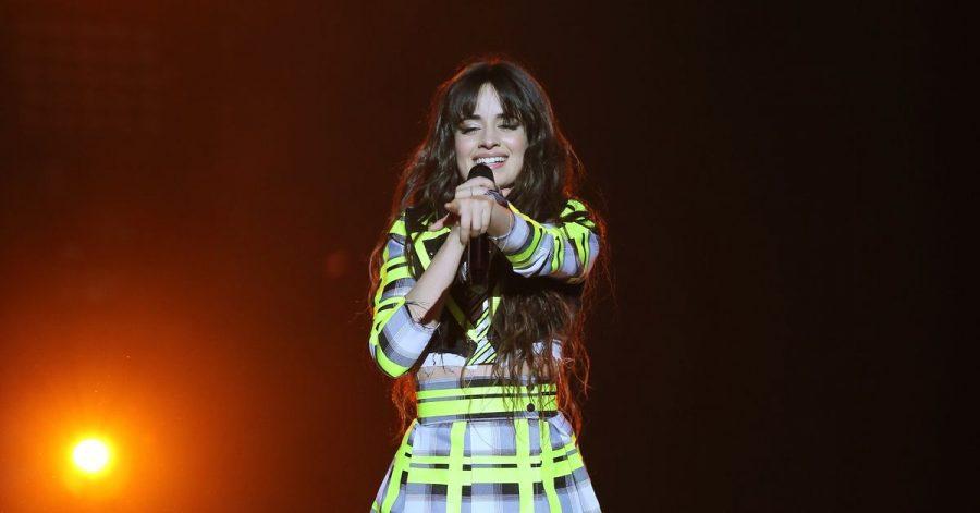 Sängerin Camila Cabello, hier während eines Auftritts 2020, spielt im Filmmusical «Cinderella» mit.