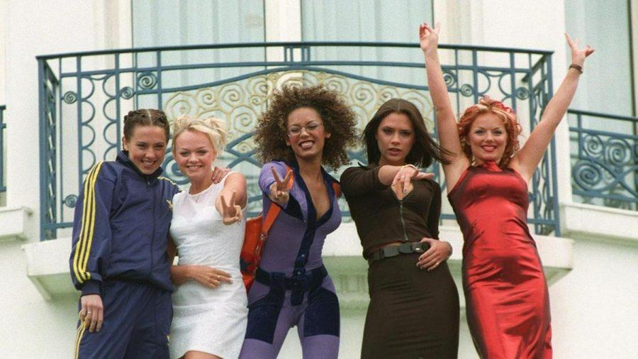 Melanie C, Emma Bunton, Mel B, Victoria Beckham und Geri Horner (v.l.) beim Cannes Film Festival 1997. (ncz/spot)