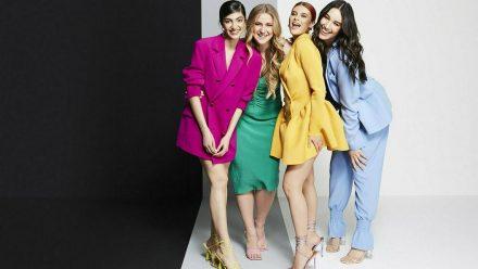 "Soulin, Dascha, Romina und Alex (v.l.n.r.): Wer wird ""Germany's next Topmodel""? (jom/spot)"
